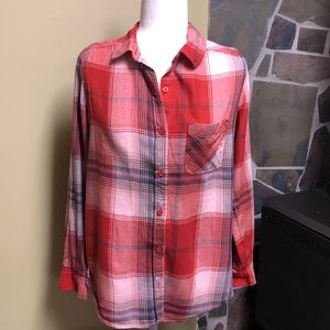 3/$20 Mudd Flannel Button Down